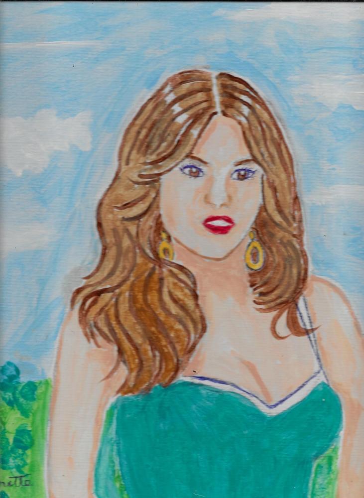 Sofia Vergara por Jeanette